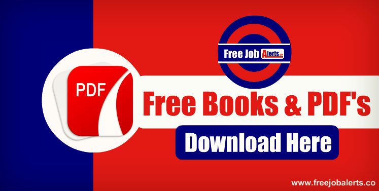 Download Free Books & PDF for all Exams