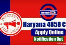 Haryana Clerk Recruitment 2019 - 4858 Clerk, Eligibility, Apply Online