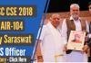 UPSC CSE Topper 2018 - Vijay Saraswat(AIR-104) Story