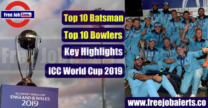 ICC Cricket World Cup 2019 Highlights - Download PDF